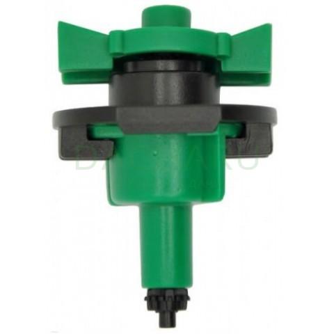 Микроспринклер, зеленый 34л/ч 2bar, 360гр (MS8130)