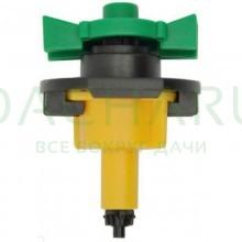 Микроспринклер, желтый, 66л/ч 2bar, 360гр (MS8160)