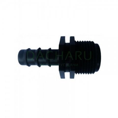 Муфта для трубки 16мм х 3/4 дюйма нар (MC011634)