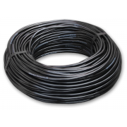 Трубка слепая, черная. 1,1мм (44 mil) (1м)