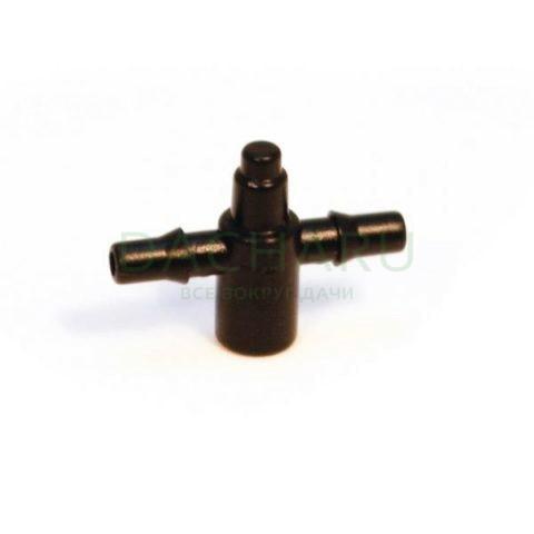 Разветвитель на 2 вых для микротрубки 6мм (5133)