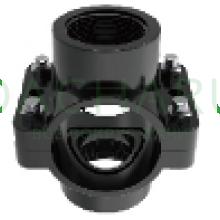 Седловой ответвитель на 2 выхода 32мм х 1/2 дюйма х 1/2 дюйма (SCD3212)