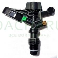Спринклер (ABC пластик),1/2 нар, зеленый 0,68 м3/ч, 3 бар, радиус10,5-11м (RS5022-5)