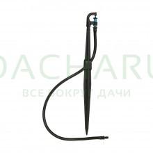 Спринклерный комплект на стойке 40 см, трубка 50см (микроспринклер в комплекте) (SMS0240)