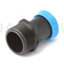 Стартовый адаптер для разбрызгивающего шланга 40мм, 40мм х 1-1/2 дюйма (GSM014050)