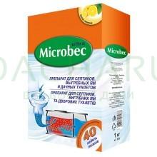 Microbec, для биоразложения содержимого септика, 1 кг