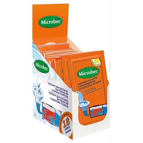 Microbec, для биоразложения содержимого септика, пакет 25 гр