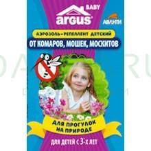 Аэрозоль от комаров 100 мл с 3-х лет до 2 часов защиты