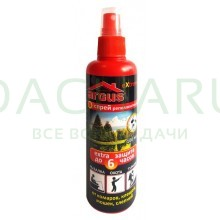 ARGUS EXTREME лосьон-спрей от комаров, клещей,мошек, слепней (репеллентный) 100 мл
