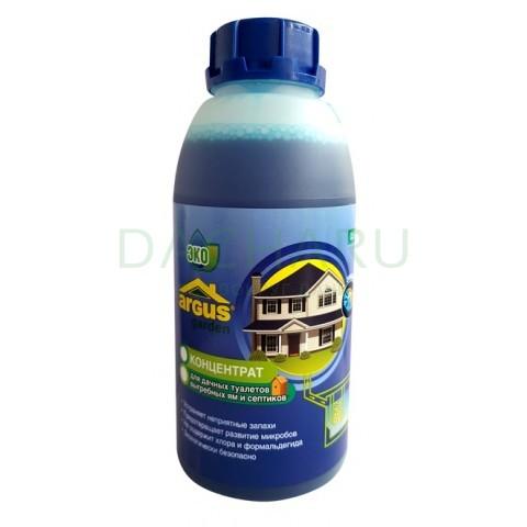 GARDEN концентрат для выгребных ям, септиков, дачных туалетов 0,5 литра (жидкость)