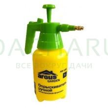 ARGUS GARDEN ПОМПОВЫЙ ОПРЫСКИВАТЕЛЬ 1 литр (в пакете) с металлической форсункой