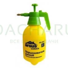 ARGUS GARDEN ПОМПОВЫЙ ОПРЫСКИВАТЕЛЬ 2 литра (в пакете) с металлической форсункой