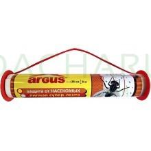 ARGUS Клеевая ловушка от мух ролик 6 метров*25 см