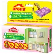 ARGUS клеевая ловушка. Защита от пищевой моли, тараканов, муравьев, мокриц, пауков