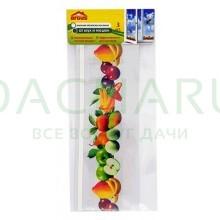 ARGUS клеевые оконные полоски от мух и мошек с рисунком ФРУКТОВ 3 шт в пакете