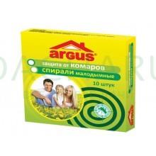 ARGUS Спирали малодымные от комаров