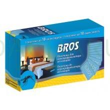 BROS – пластины от комаров к электрофумигатору 10 шт.