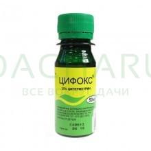 Цифокс (циперметрин 25%) 50 мл.