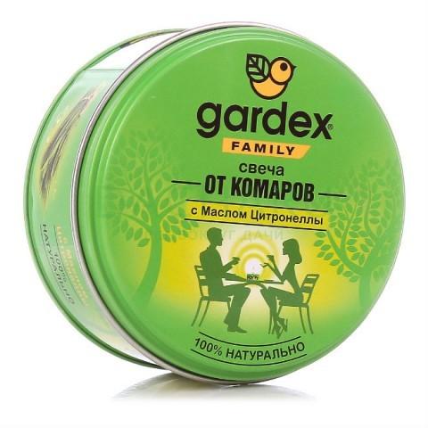 Gardex Family Свеча репеллентная от комаров, 110 г