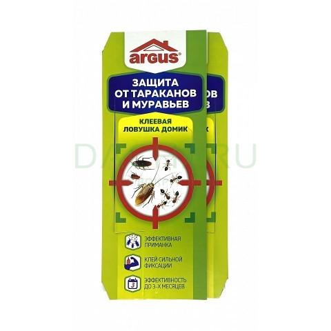 Клеевая ловушка для тараканов «Домик» (1 шт)