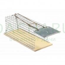 Крысоловка клетка (Сетка и деревянная основа)