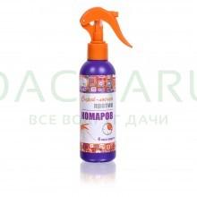 Спрей-лосьон от КОМАРОВ до 4 часов защиты, репеллентный, курок, 200 мл