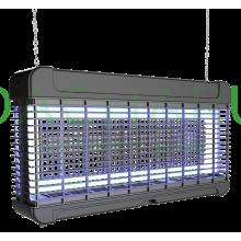 Сверхмощный уничтожитель летающих насекомых со светодиодными лампами GB-30L