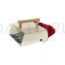 Комбайн деревянный Финский для сбора ягод с мешком