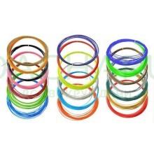 Аксессуар для 3D ручки - Цветной ABS пластик для 3D-Ручек (9 цветов по 10м. в коробке)