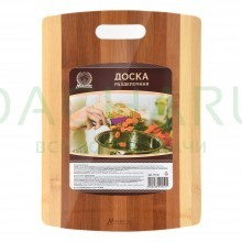 Доска разделочная бамбуковая 35*25 см