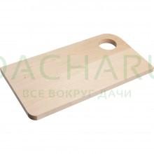 Доска разделочная деревянная 34*19 см