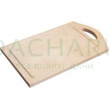 Доска разделочная деревянная 38*22 см