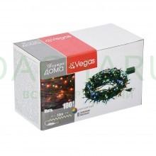 Электрогирлянда «Нить» 100 разноцветных LED ламп