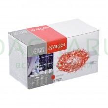 Электрогирлянда «Занавес» 156 красных LED ламп