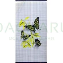 Электрообогреватель настенный «Бархатный сезон» Бабочки на белом