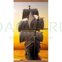 Электрообогреватель настенный «Домашний очаг» Корабль