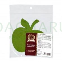 Подставка «Яблоко» фетровая 11*11 см