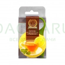 Ситечко для заваривания чая силиконовое «Лимон», 18*5*2 см 0