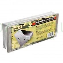 Контейнер для щепы, для копчения в мангалах, грилях, барбекю, 24x10x4,5 см36