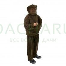 Костюм противомоскитный в чехле, 3 предмета (накомарник, куртка, штаны)