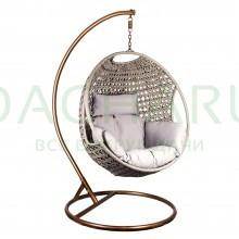 Кресло-качели подвесное с подушкой