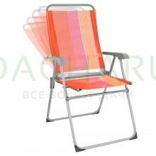 Кресло ORANGE 5 положений, АЛЮМИНИЕВЫЙ каркас, 67x59x100 см, 2,75 кг