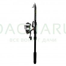 Набор для рыбалки (Спиннинг 2,7 м, би катушка с леской, 4 блесны, 2 поводка)