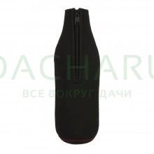 Термочехол для бутылки 0,5 л, неопреновый черный