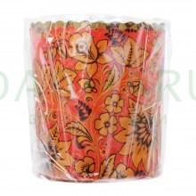 Набор бумажных форм для выпечки куличей «Пасхальный» 0,3 л d 70*85 мм, 3 штуки