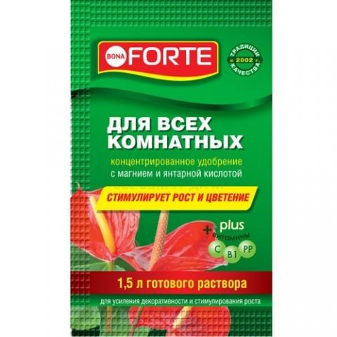 Красота Жидкое минеральное удобрение Для всех комнатных растений, пакет 10 мл
