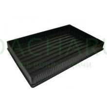Поддон под кассеты формованный 520*320*50 мм (5шт)