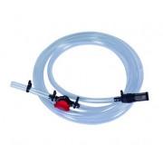 Подающий шланг с краном и фильтром для Инжектора Вентури, 1 дюйм - 1,1/2 дюйма (SA0110)