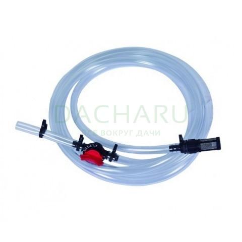 Подающий шланг с краном и фильтром для Инжектора Вентури, 1/2 дюйма - 3/4 дюйма (SA0112)