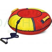 Тюбинг (красный-желтый) (80см)